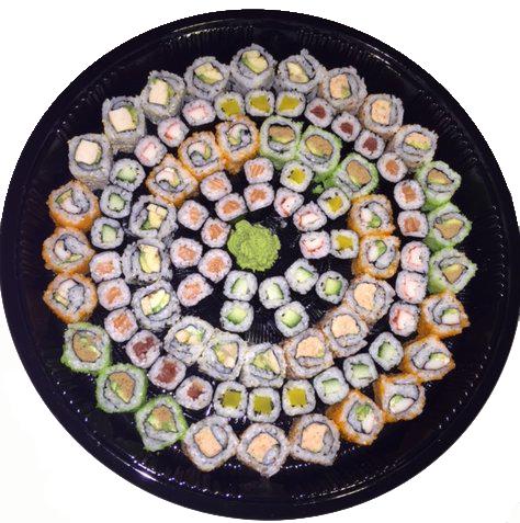 Sushi 80 stuks